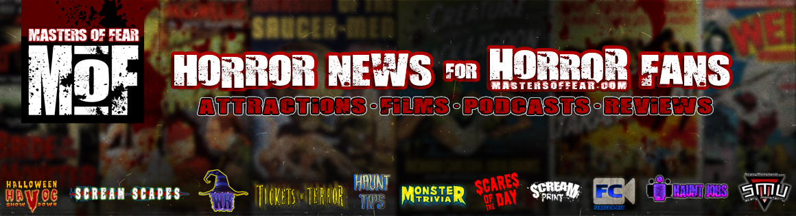 Horror News for Horror Fans by Masters Of Fear