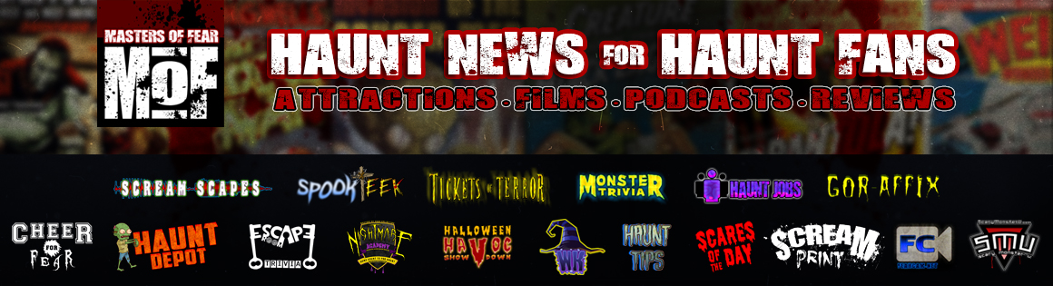 Haunt News for Horror Fans: Masters of Fear Haunt Network