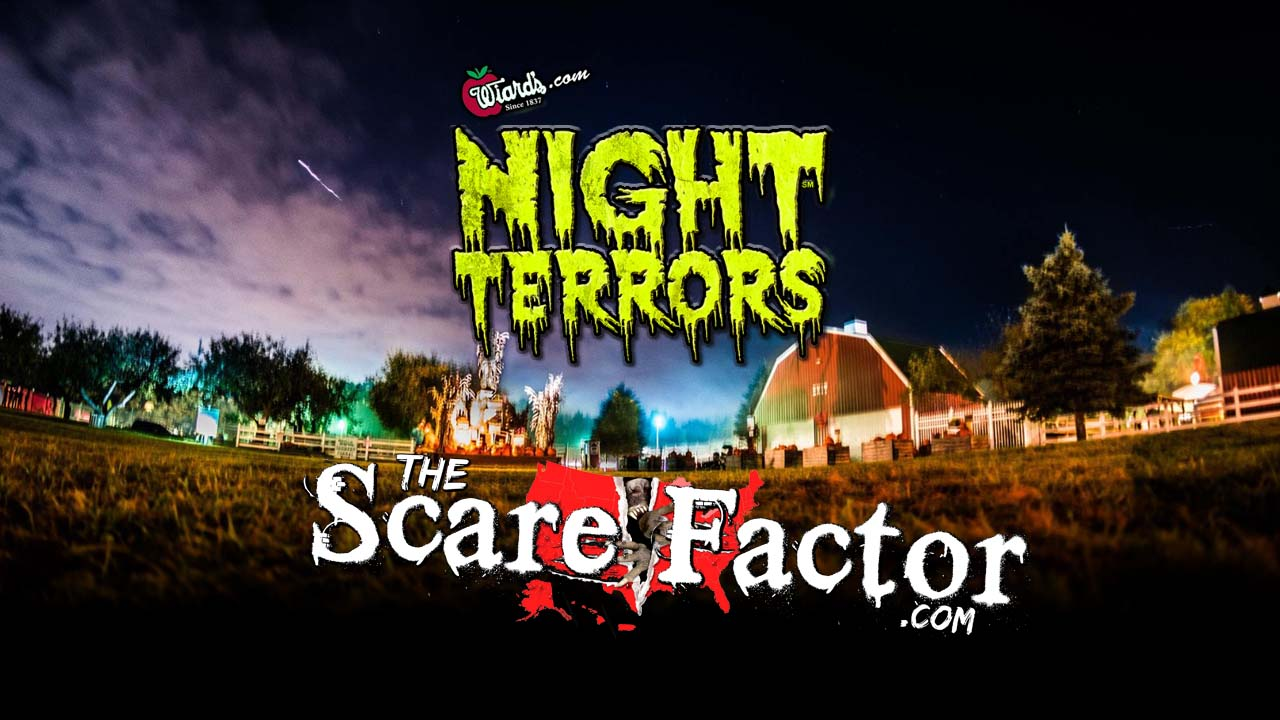 The Scare Factor 2017 Haunt Review for Wiards Night Terrors Haunted Thrill Park