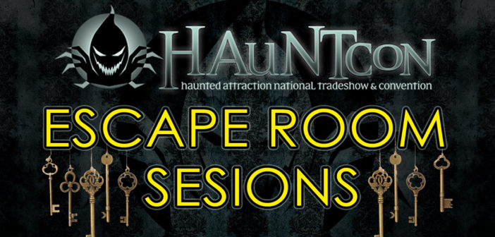 What Escape Room Sessions are you attending at HAuNTcon?