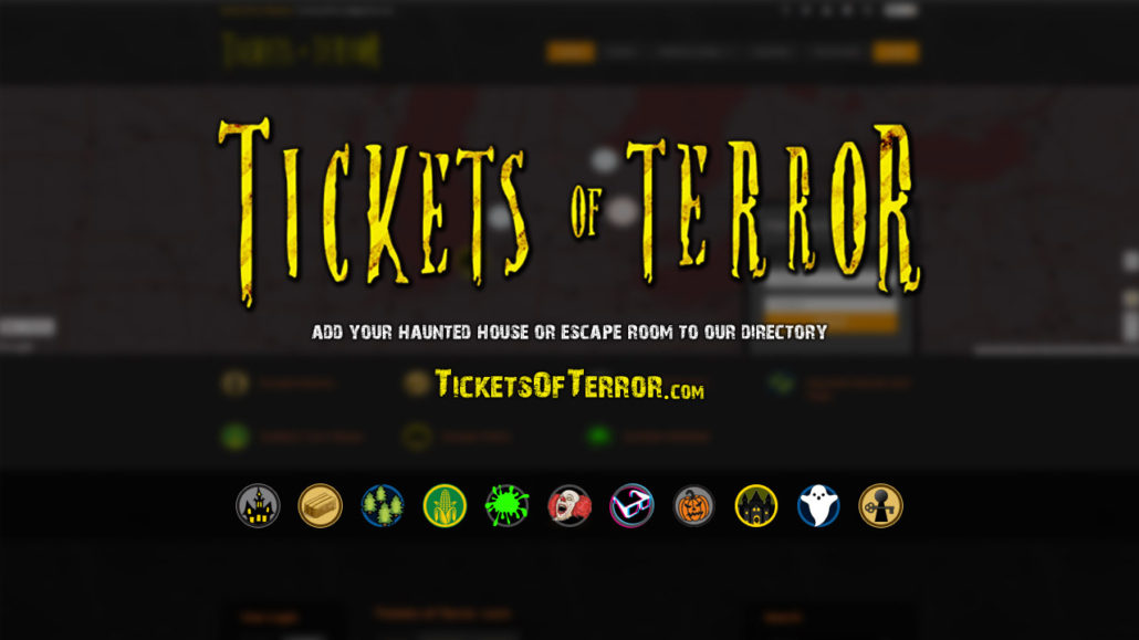 Tickets of Terror Haunt Directory - Find Haunted House Ticket Links and Haunted Events.