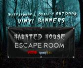 Outdoor Vinyl Banner | Waterproof & Durable 13oz Vinyl
