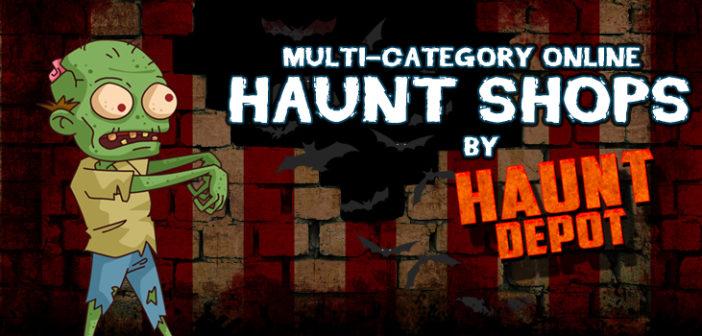 Multi-Category Online Haunt Shops